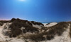 Wide panorama of the Tr�guennec dunes