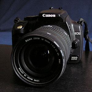 My digital cameras and lenses