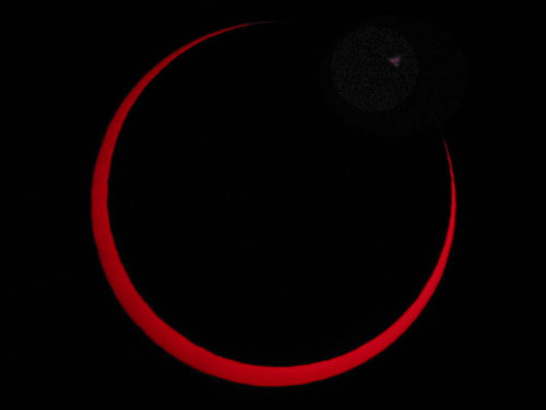 3 October Annular Eclipse