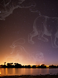Leo, Ursa Major and Bootes